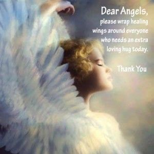 healing angels prayers...
