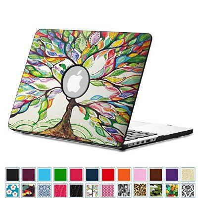 """White Feathe Hard Case Shell Protector for MacBook air pro 13/"""" A1466 A1932 A2159"""