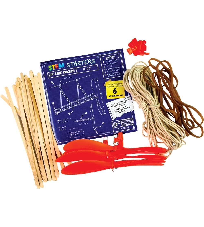 Stem Starters Zip Line Racers Teacher Created Resources Craft