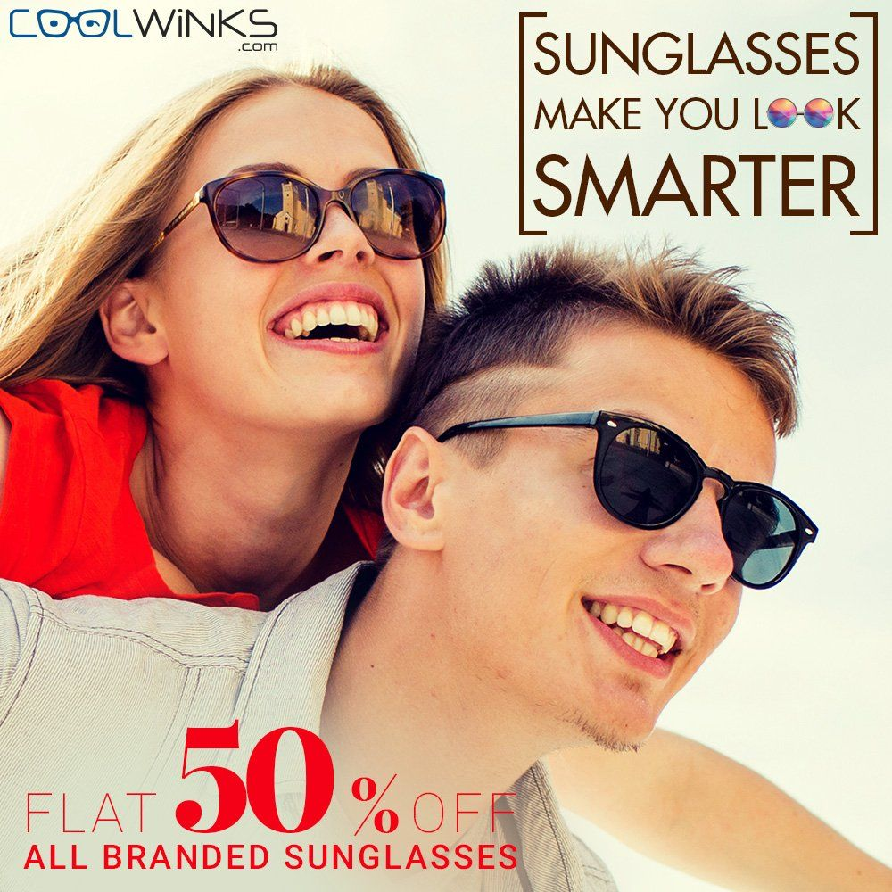 a23452e0f31 GET UPTO 70% OFF on Buying Branded Sunglasses for Women and Men at  www.coolwinks.com. Free Shipping