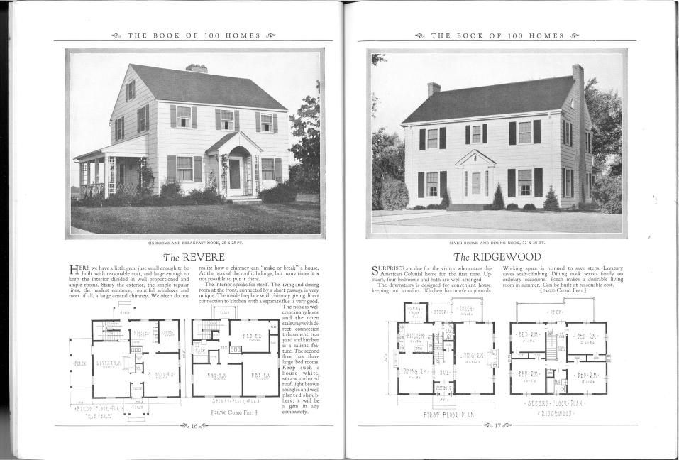Book of 100 homes, c.1939