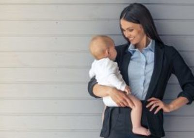 From career woman to baby – top tips to thrive