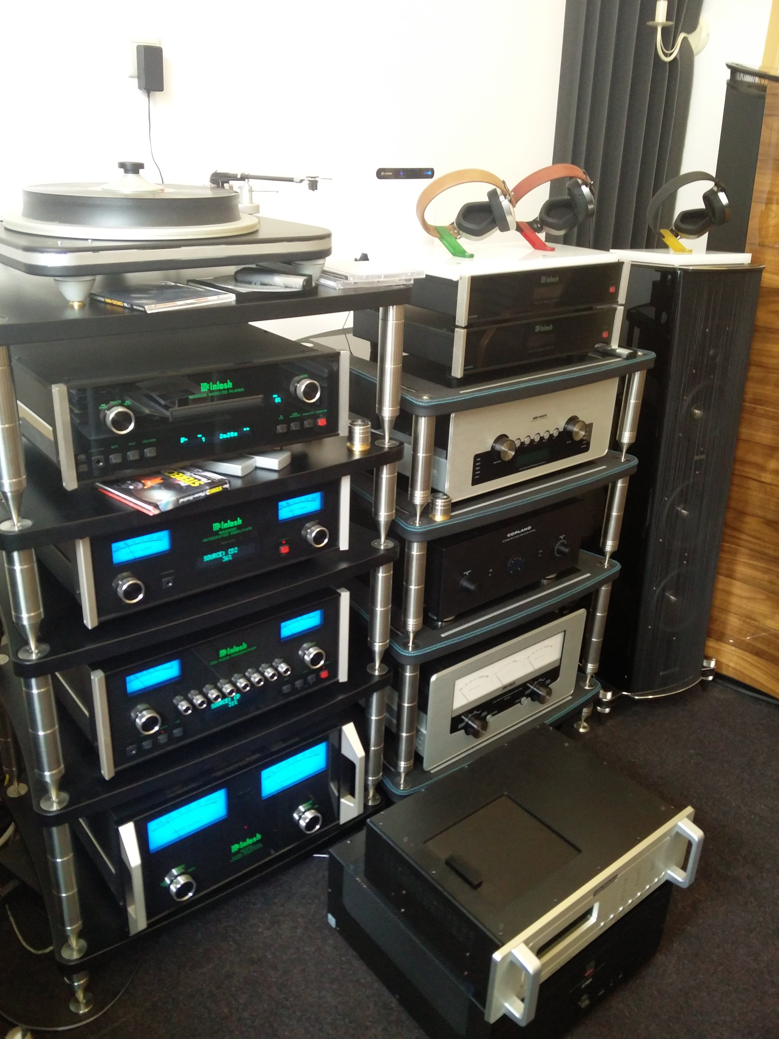 Last week in Moscow our racks with McIntosh Laboratory Inc Sonus