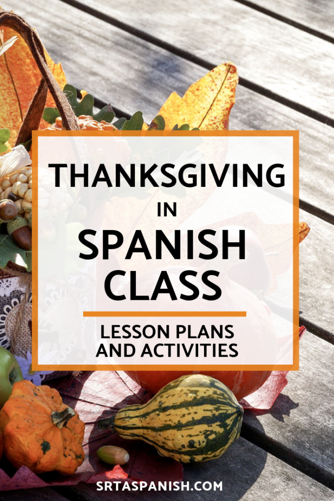 Are you looking for Thanksgiving activities for your Spanish classes? Your Spanish classroom will love these reading, writing, speaking, and listening activities! Perfect for middle school and high school students to reflect on what they are thankful for, grateful for, and what matters to them! Use them as stations or as separate activities to celebrate Día de Acción de Gracias in your Spanish class!
