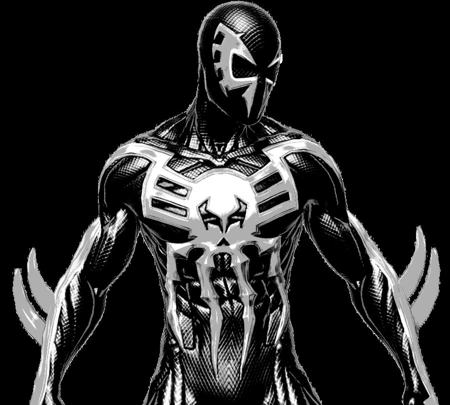 SpiderMan 2099 Black Cat  spiderman 2099 venom suit by Toveice