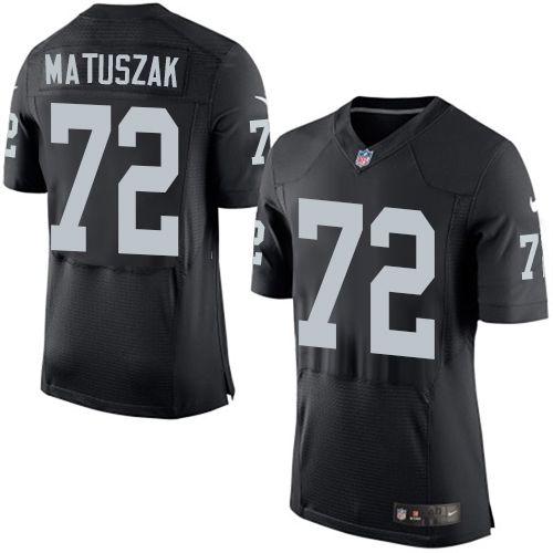 Men's Oakland Raiders #51 Ben Heeney Black Team Color NFL Nike Elite Jersey