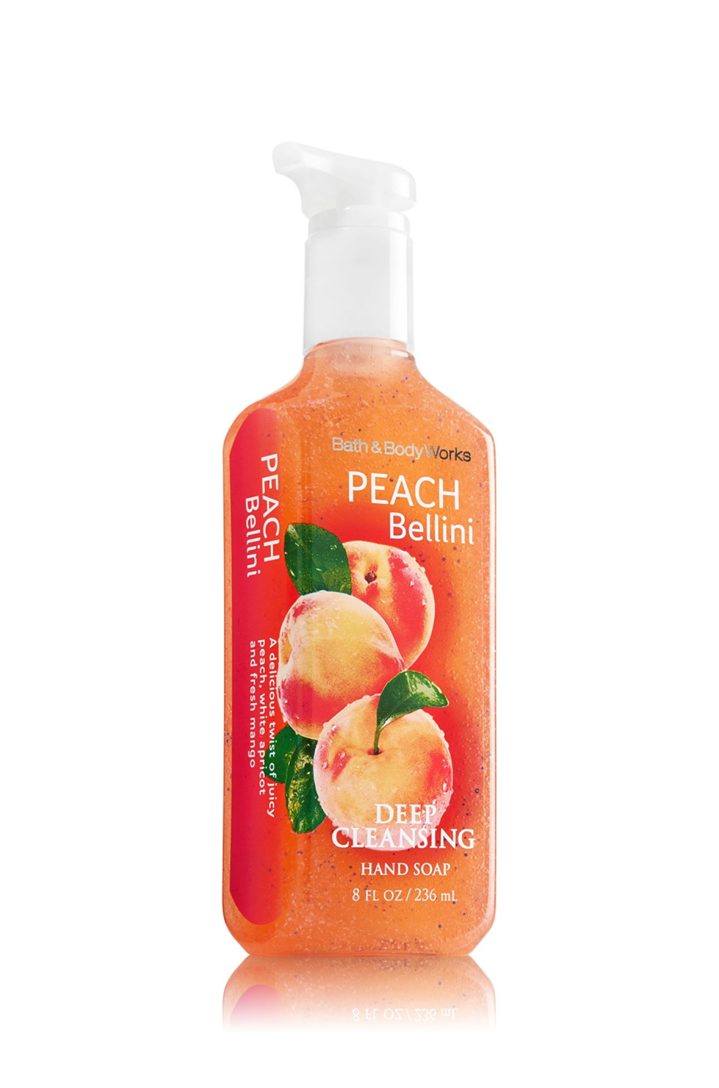 Peach Bellini Bath Body Works Deep Cleansing Hand Soap A