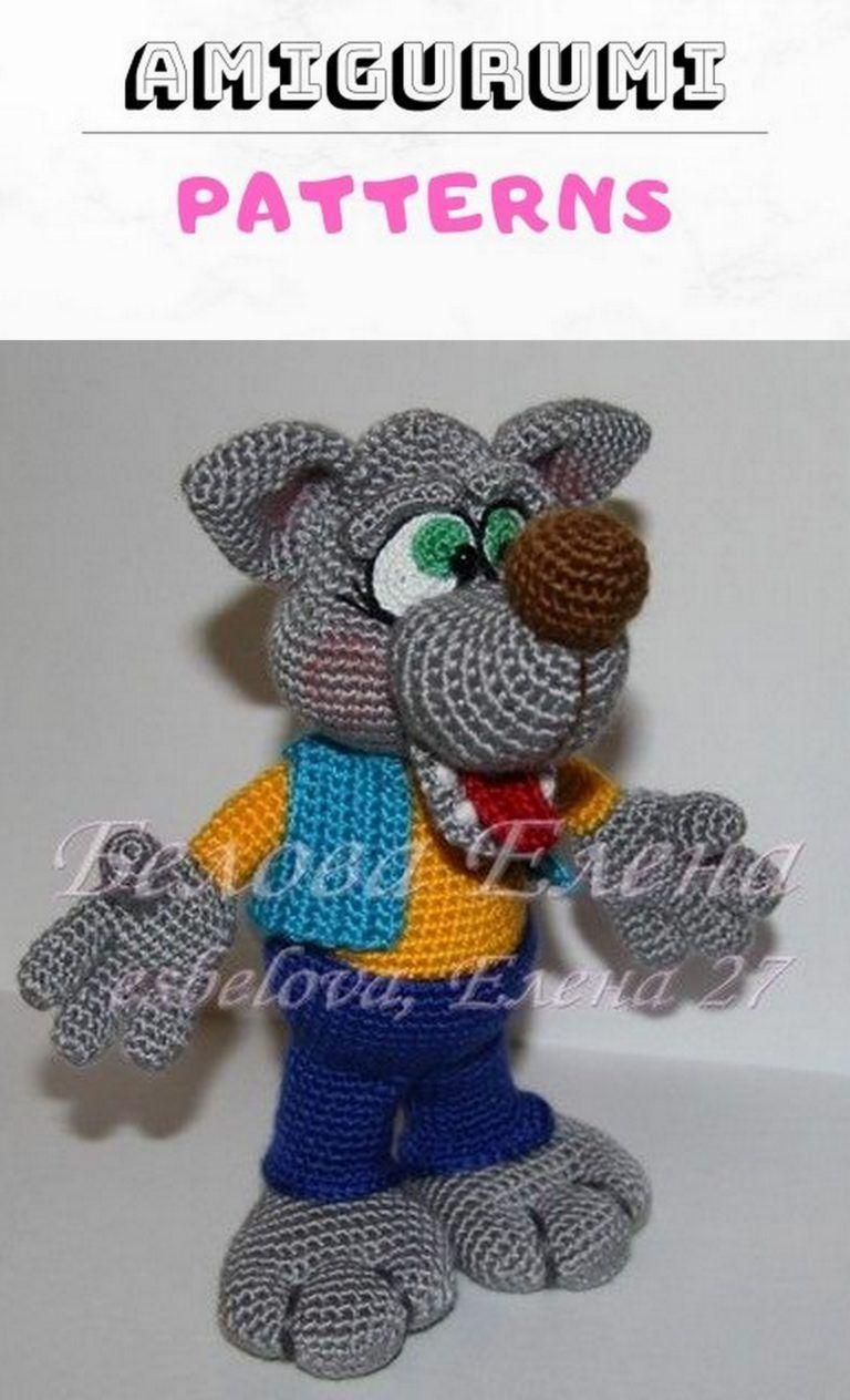 Amigurumi dog Toshka free pattern | Amiguroom Toys | 1264x768
