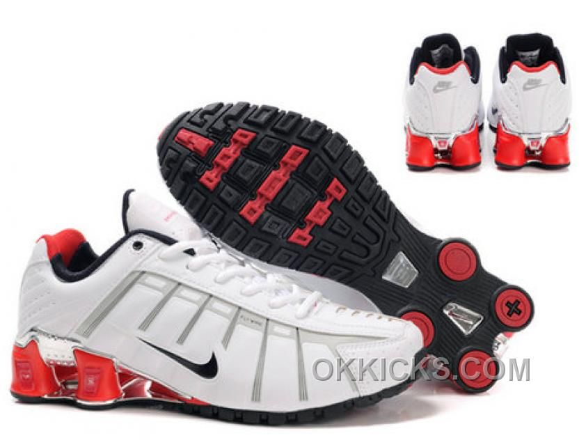 New Nike Shox NZ 3 Black Red Shoes