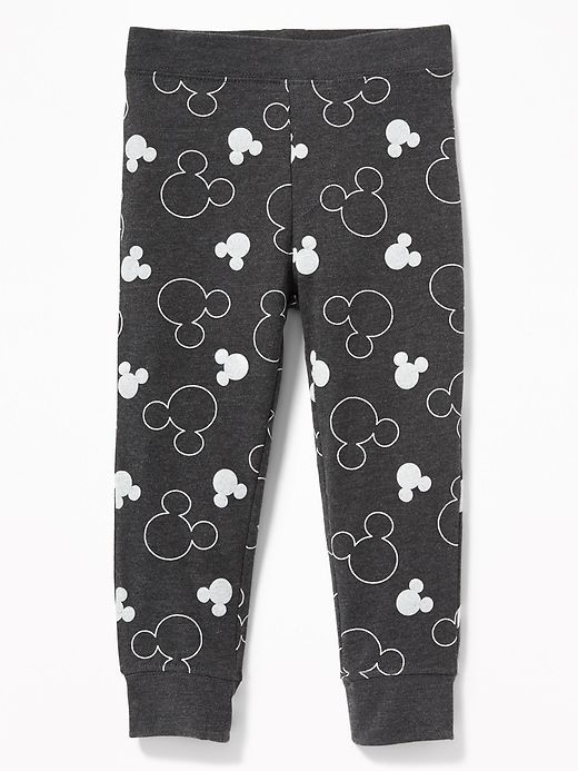 ff1d134cf107f Old Navy Toddlers' Disney© Mickey Mouse Leggings Charcoal Heather Size  12-18 M