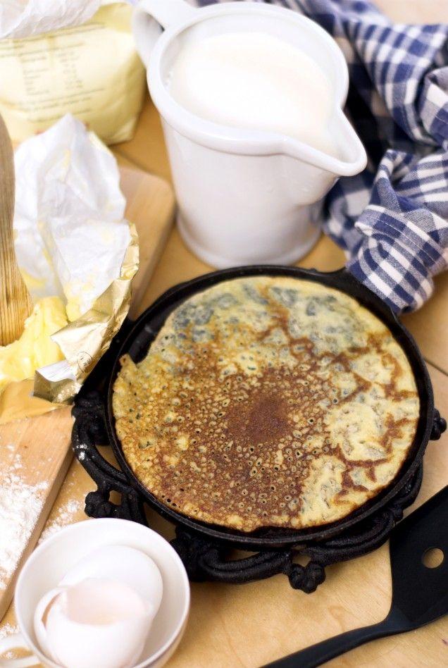 recept på pannkakssmet