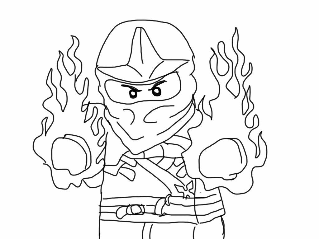 Ninjago Coloring Games Gambar