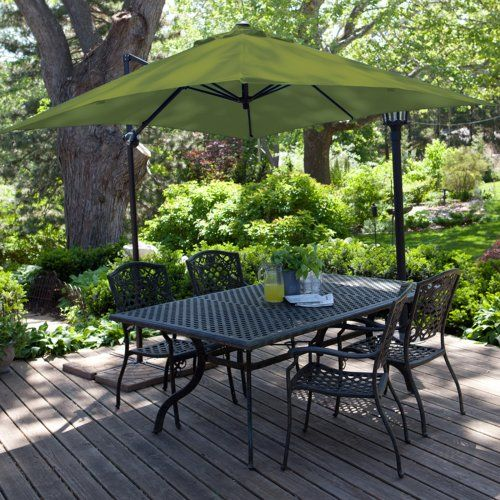 Find It At The Foundary   8 Ft. Square Offset Patio Umbrella
