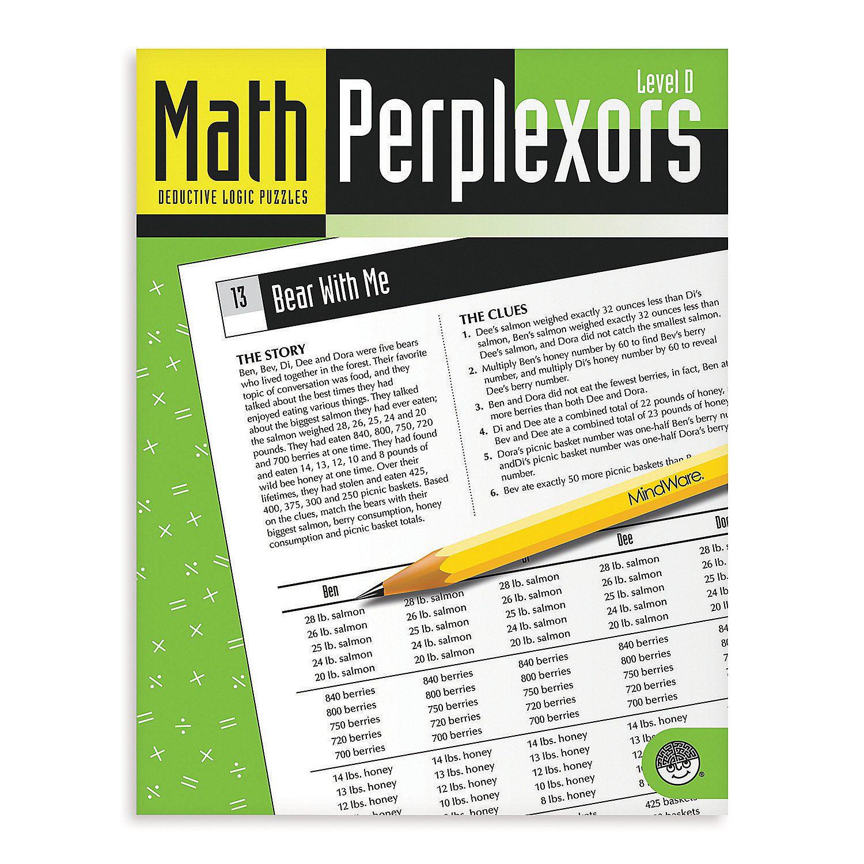 Math Perplexors Level D