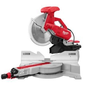 Milwaukee 12 In Dual Bevel Sliding Compound Miter Saw 6955 20 Sliding Compound Miter Saw Miter Saw Sliding Mitre Saw