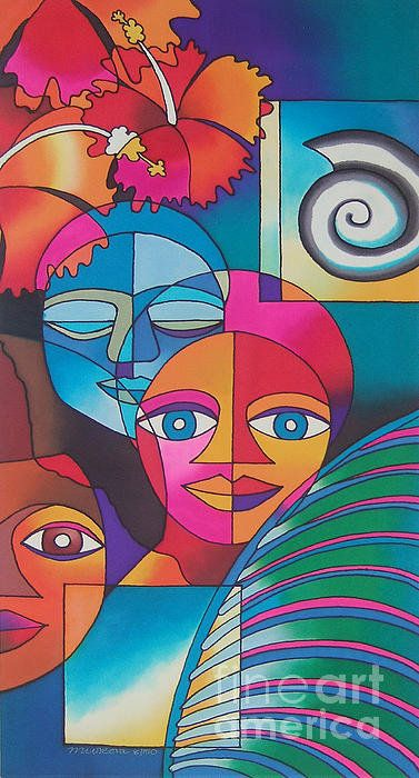 Yau Ni Viti I Poster By Maria Rova