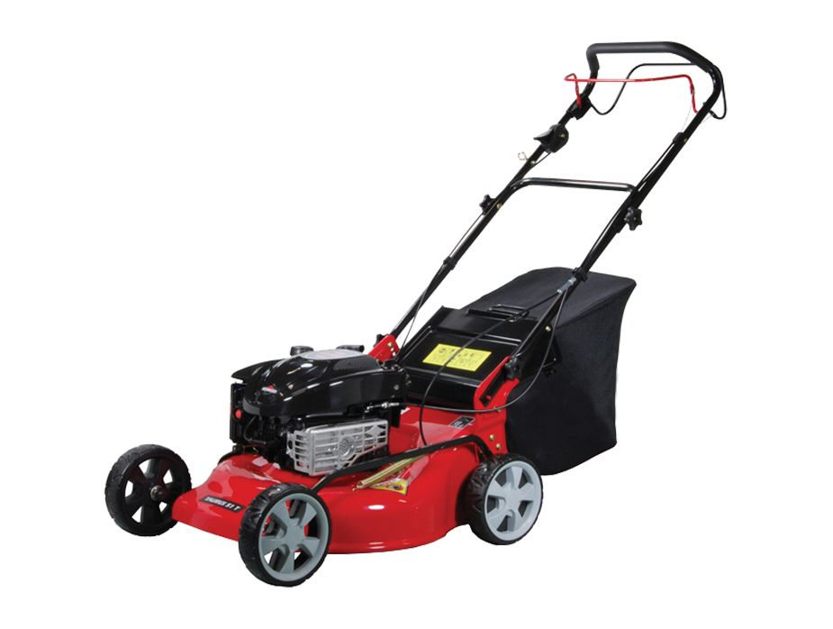 The CAMON Taurus 51 TH mower is a reliable self propelled mower, featuring the option to use the mower in three different set ups.    This mower can be used as either a mulching mower, a standard collection mower or as a side discharge mower.     Price - £586.80