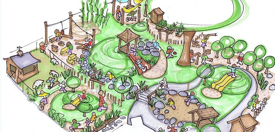 Backyard Playscape Designs 10 essentials for a backyard playground Planet Earth Playscapes Natural Playscape Design Rusty Keeler Ithaca