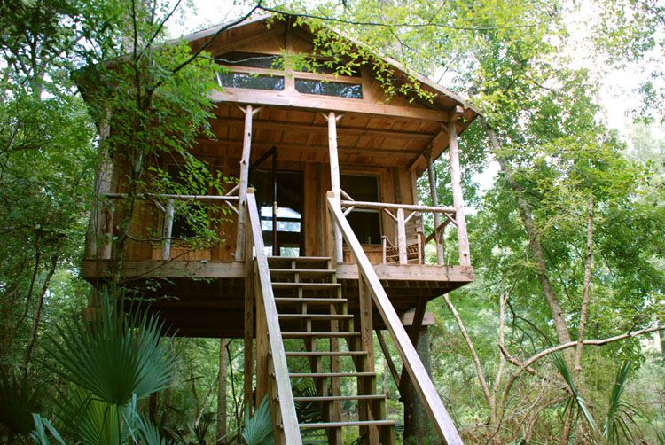 Tree Houses Glamping South Carolina Sc Luxury Camping