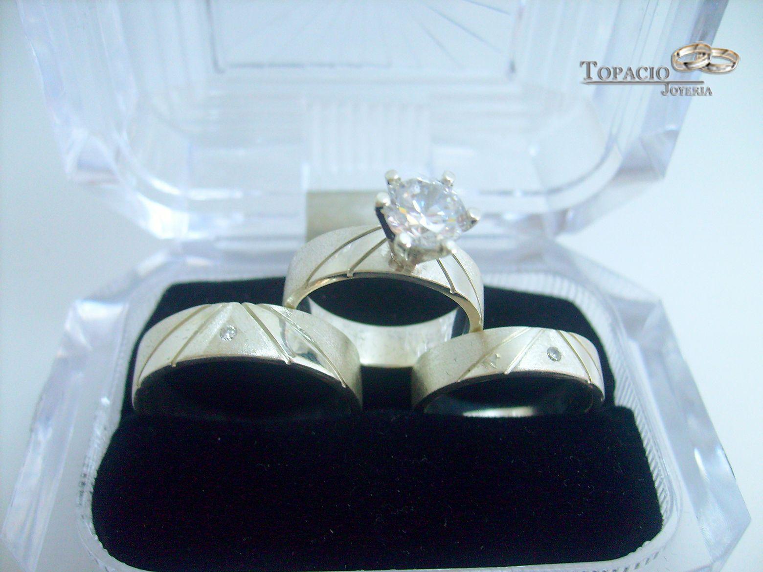 #Engagement #Ring #Wedding #Silver