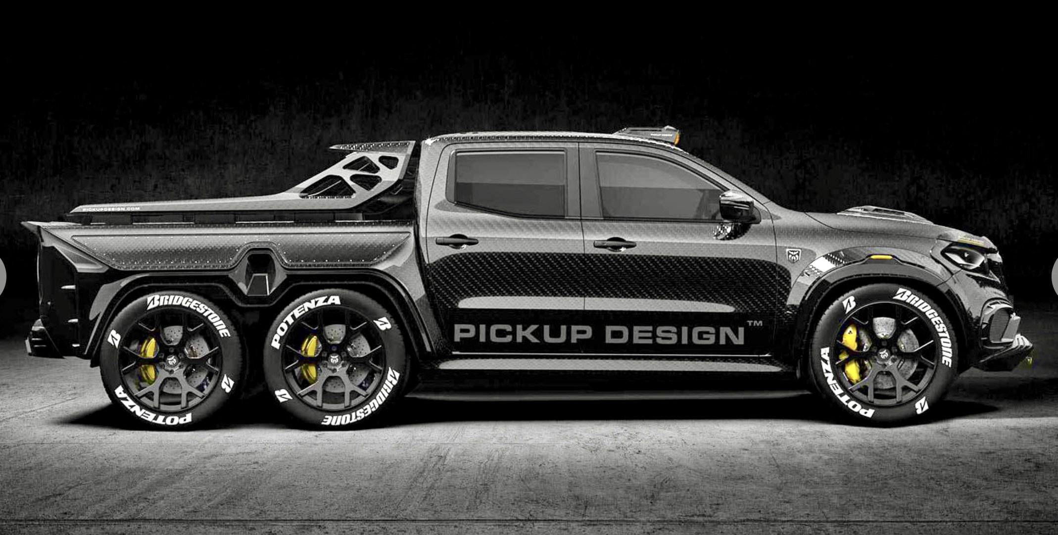 Mercedes Classe X Pickup Design Exy Monster X Concept With Images