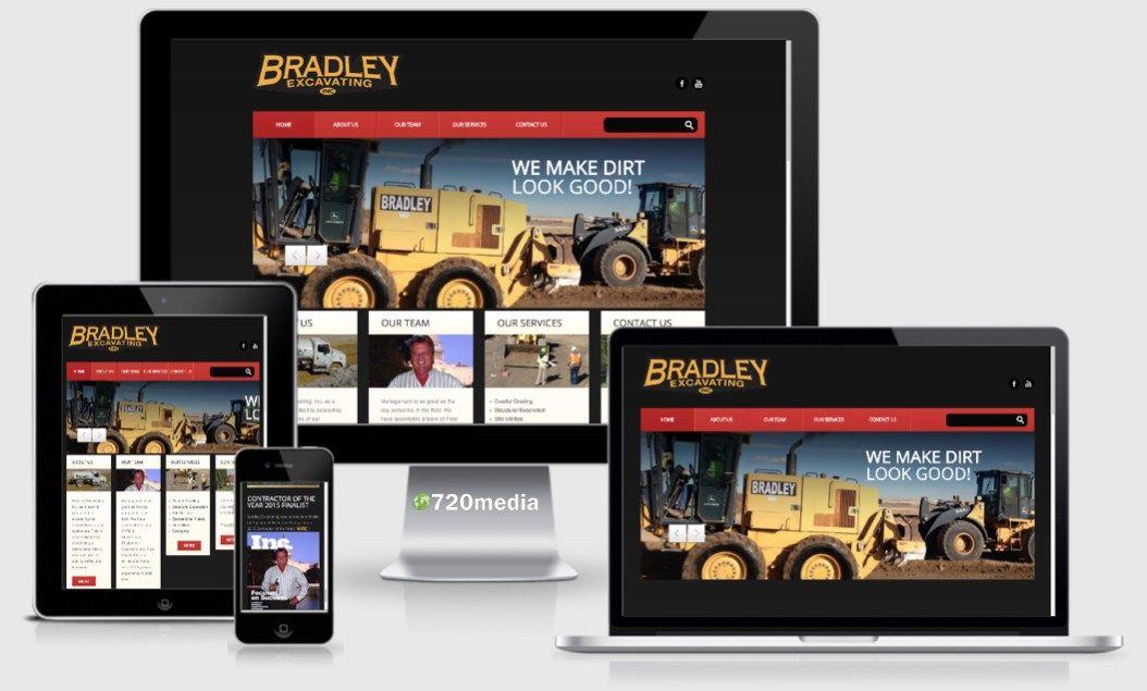 Bradley Excavating Colorado Springs Colorado Visit Bradleyexcavating Com This Responsive Wordpre Website Design Wordpress Website Design Colorado Springs