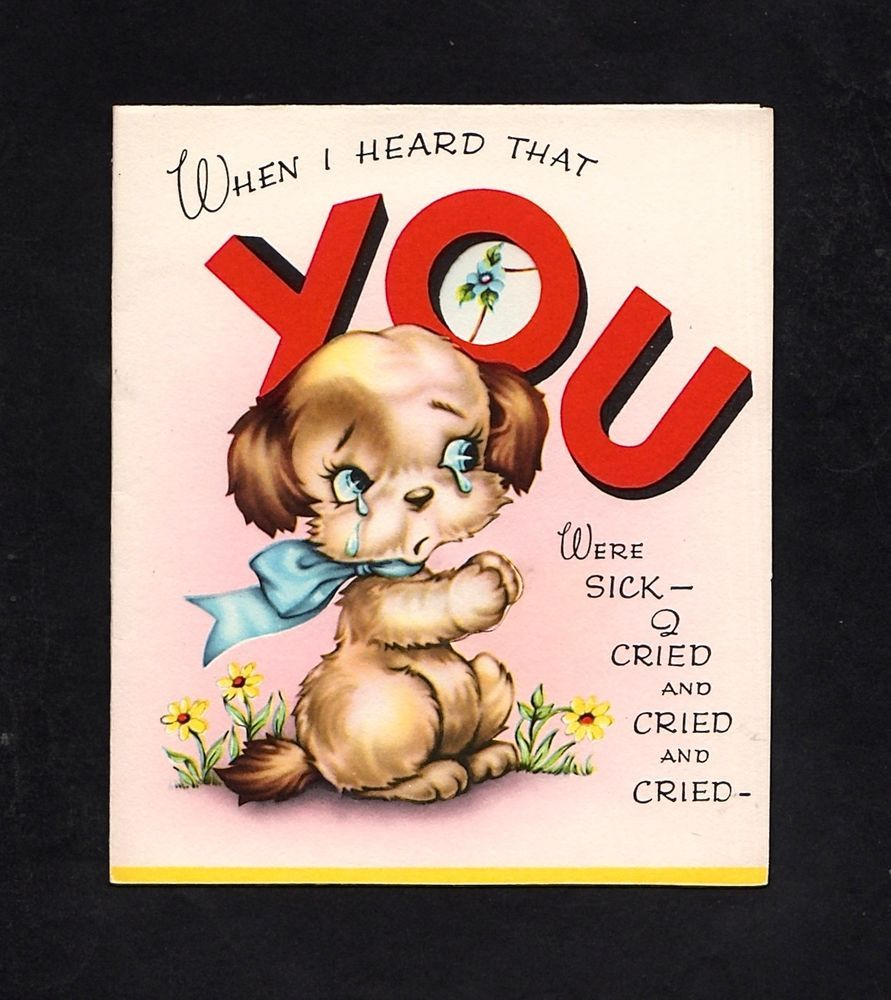 Unused get well greeting card ga 39 vintaged get well greeting unused get well greeting card ga 39 bookmarktalkfo Choice Image