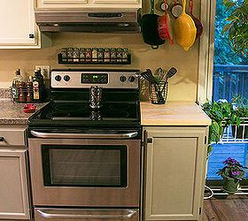 Hideous Kitchen Becomes Beautiful And Bright Stove Decor Remolding Kitchen Kitchen
