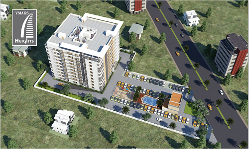 VMAKS Heights is beautiful apartments located at Electronic City. Vmaks Heights is a prelaunch Property by Vmaks PVT LTD. Offering 2 and 3 BHK Flats