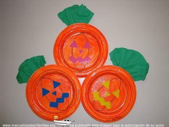 Manualidades para halloween buscar con google talleres - Manualidades calabazas halloween ...