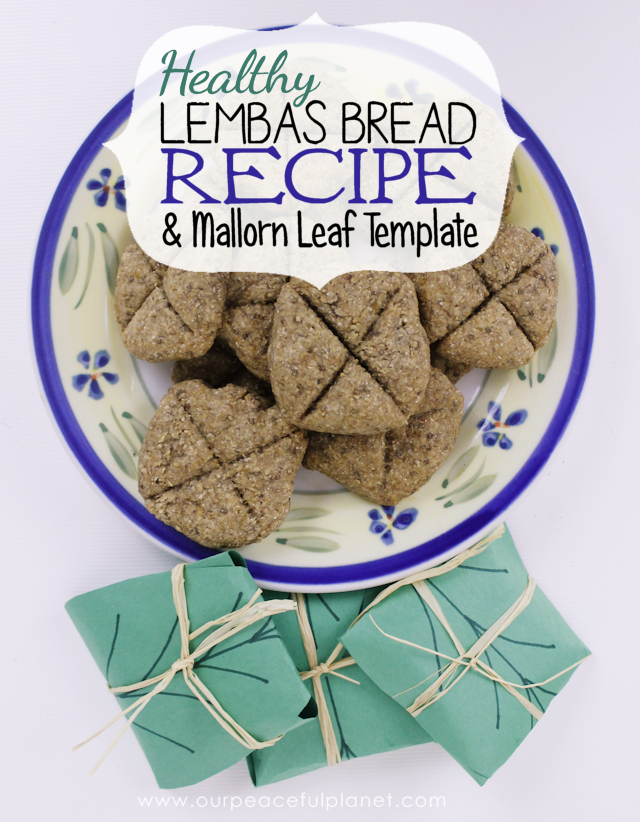 Simple Healthy Lembas Bread Recipe Mallorn Leaf Template Recipe Lembas Bread Bread Recipes Recipes