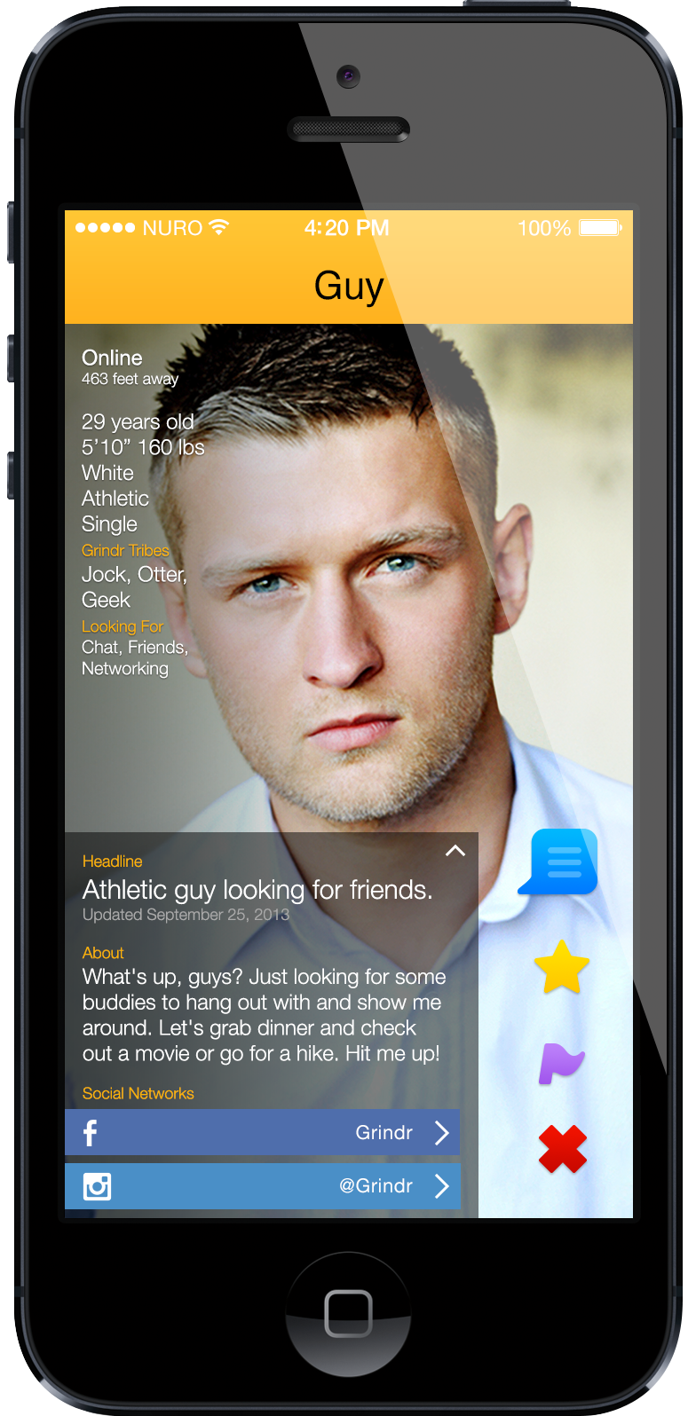 Top mobile gay incontri Apps