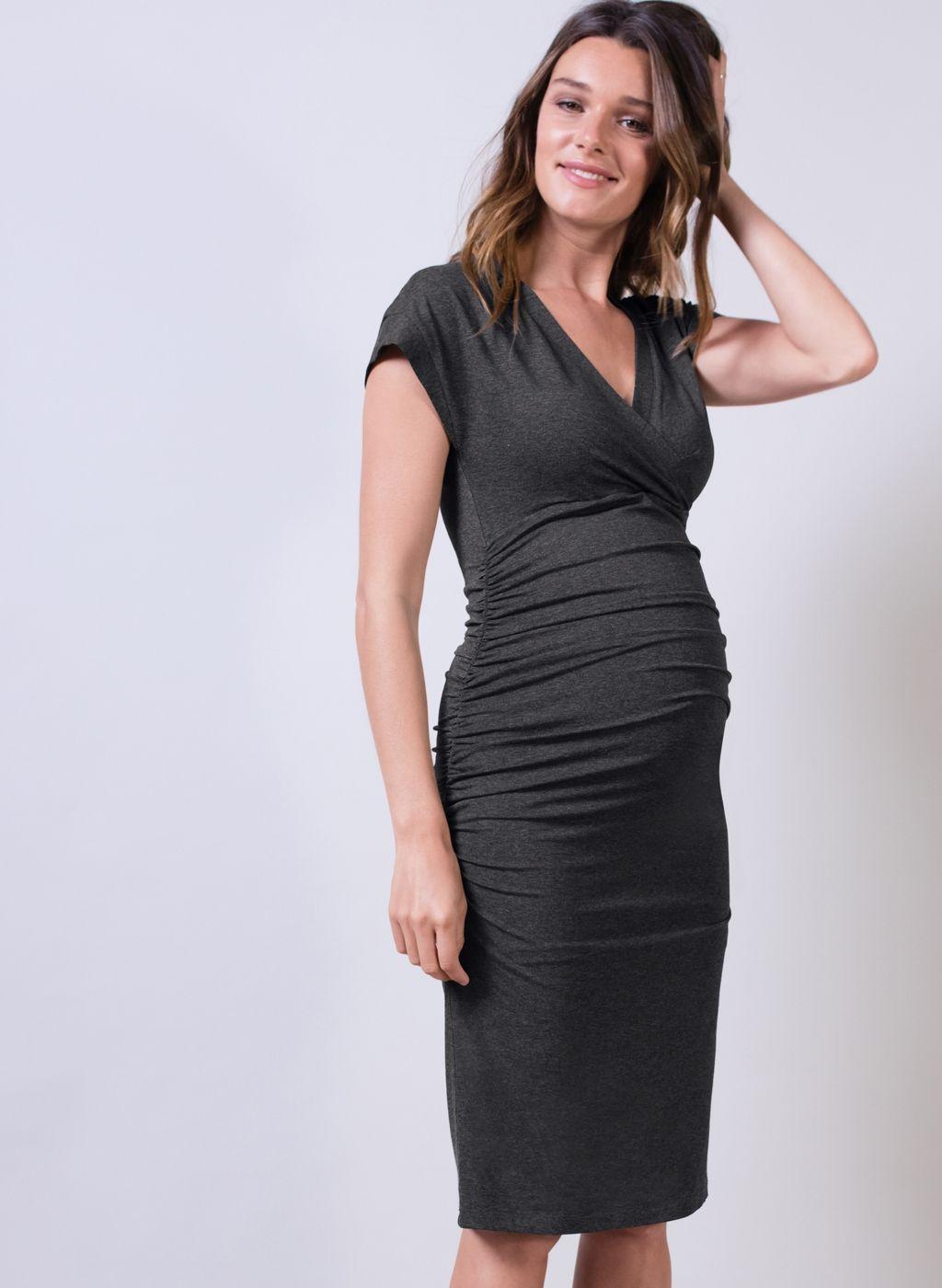 942259f6e33 Halstead Maternity Dress, Isabella Oliver, $159 Embarazo, Vestidos De  Maternidad, Moda De