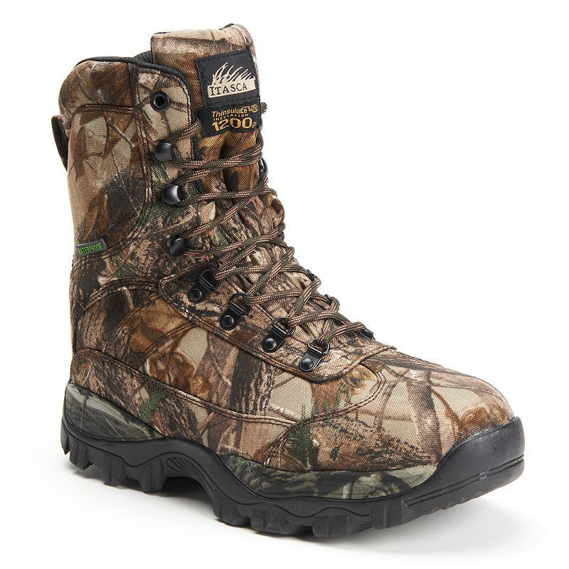 Itasca Carbine Men's ... Camouflage Waterproof Boots