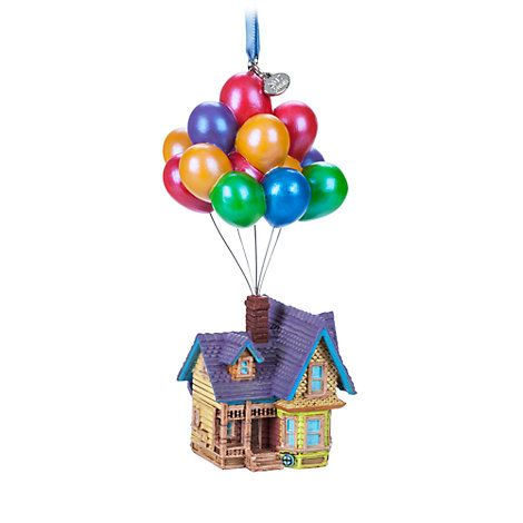 Disney up house sketchbook ornament give your holiday home decor an up lift with this finely detailed sketchbook ornament of carl fredricksens house as it