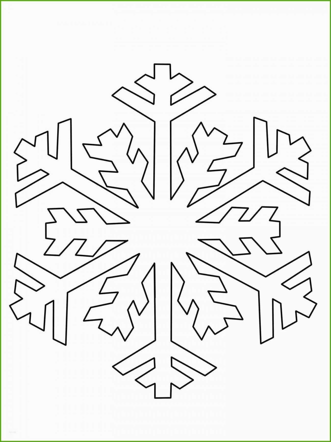 Authentisch Schneestern Vorlage in 20  Schneeflocken basteln