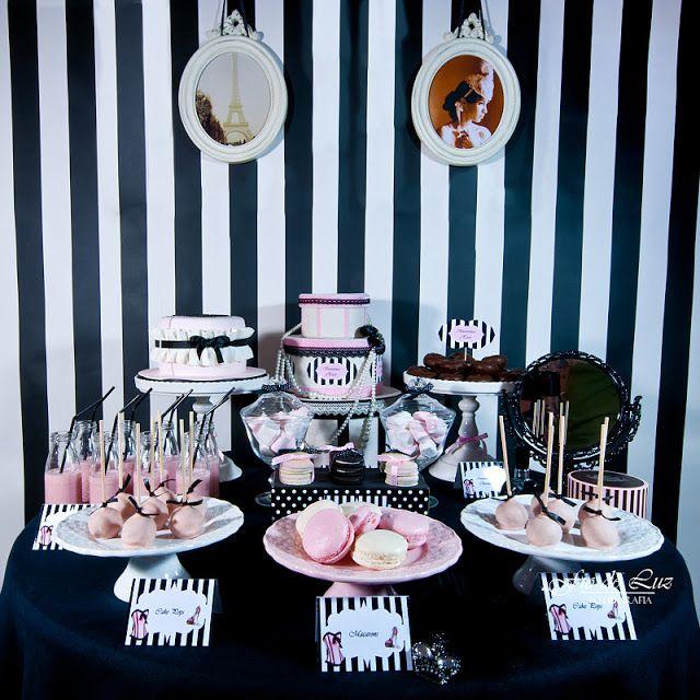 Galeria Sweet Little Party: Paris Chic Party
