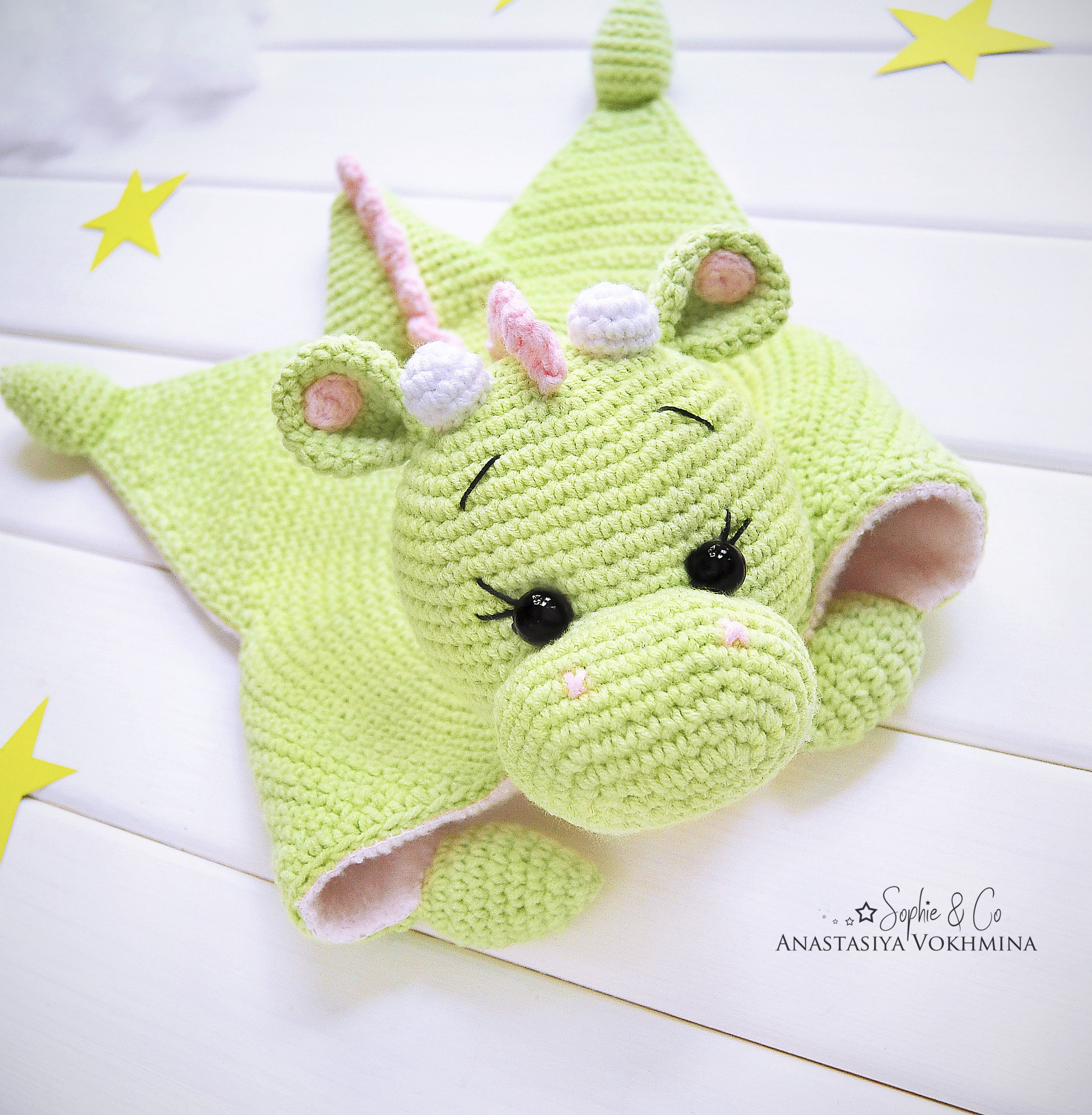 Pattern Cotton Comforter Series 5 Lovey Pattern Baby Lovey Toy