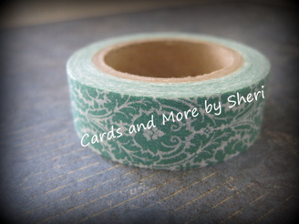 Sheris Buckingham Turquoise Washi Tape (1): http://www.outbid.com/auctions/11335-the-queen-bee#12 @Queen Bee @Outbid Live Online Auctions