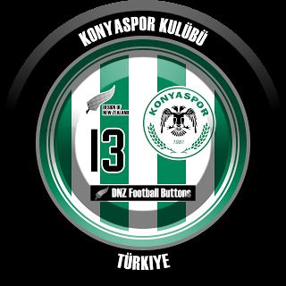 Konyaspor Kulubu Futebol De Botao Futebol Futebol Europeu