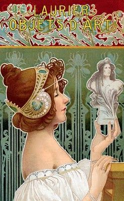Art Nouveau, Laurier's Objets D'Art  https://www.artexperiencenyc.com/social_login/?utm_source=pinterest_medium=pins_content=pinterest_pins_campaign=pinterest_initial