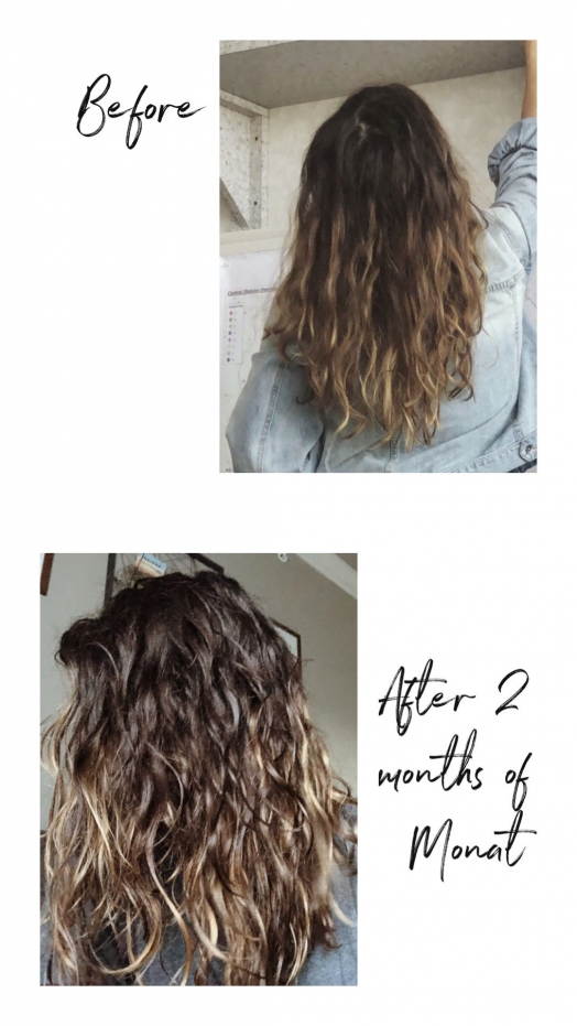 2 month curl transformation by switching products to Monat. Take the free hair quiz to see if it is a fit for you! ????   #hairtransformation #curlyhair #monat #wearemodernnature #healthyhair #longhair #crueltyfree #veganhaircare #healthyhairjourney #monatbeforeandafter #beforeandafter #hairproducts #hair #products #for #curls