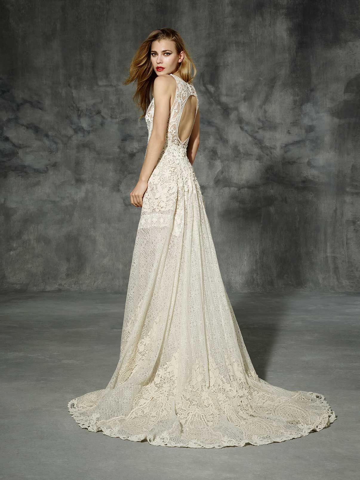 Yolancris boho wedding dress sarria bridal dress in