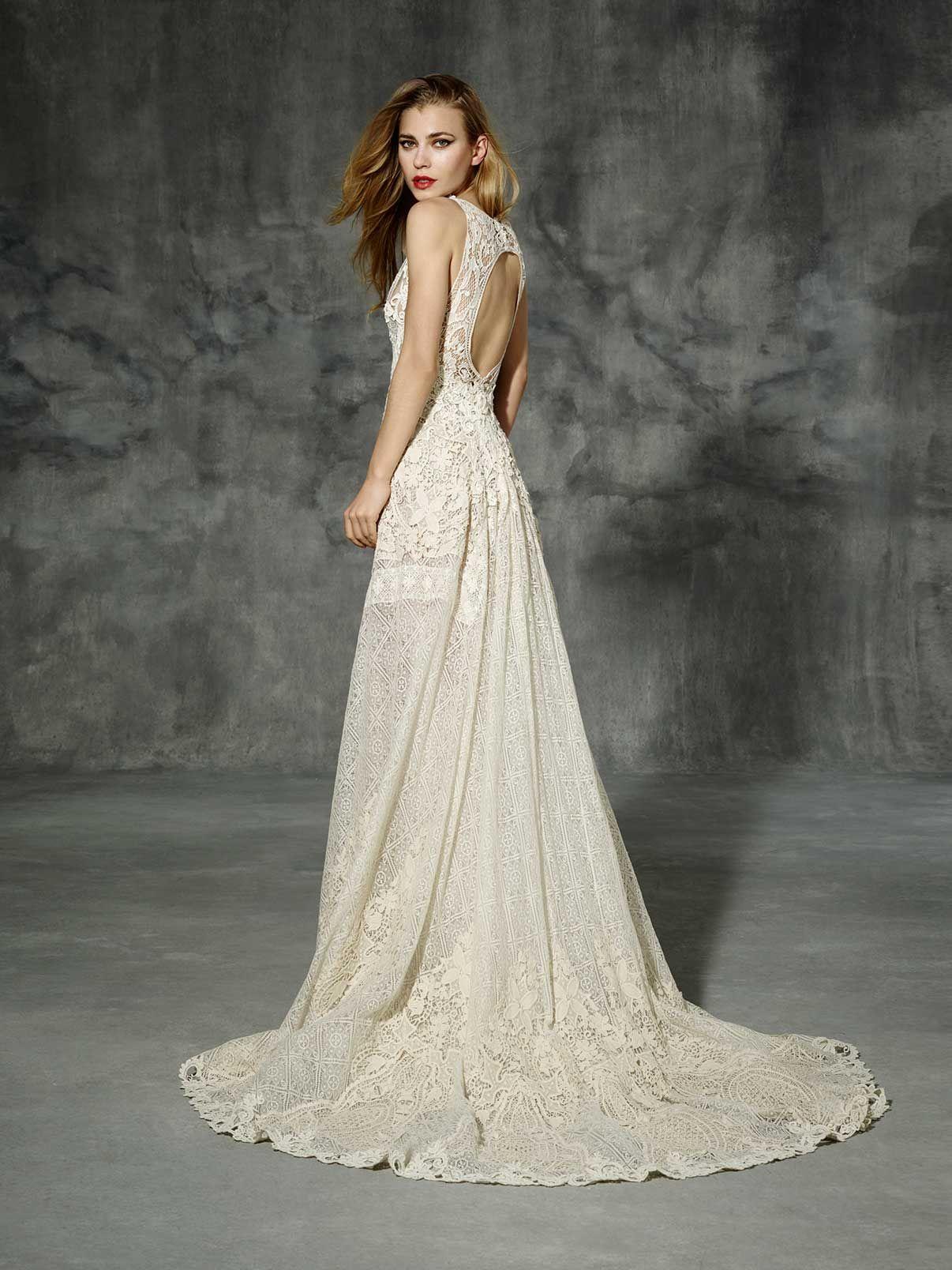 Yolancris boho wedding dress sarria bridal dress in