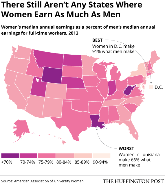 the gender gap in the american society The gender gap in these fields is pronounced, to be sure  they presented their results in june at the 2017 american society for engineering.