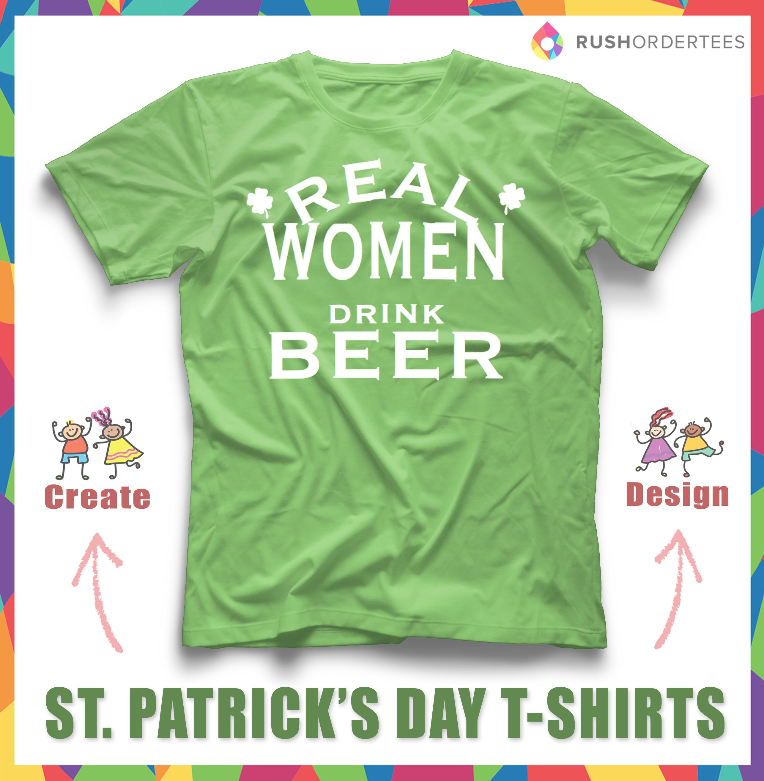 66386e31 ... for your #StPatricksDay custom tee? Create your own for your team or  your event. #PaddysDay made fun by you! St. Patrick's Day T-Shirt Idea's # Design