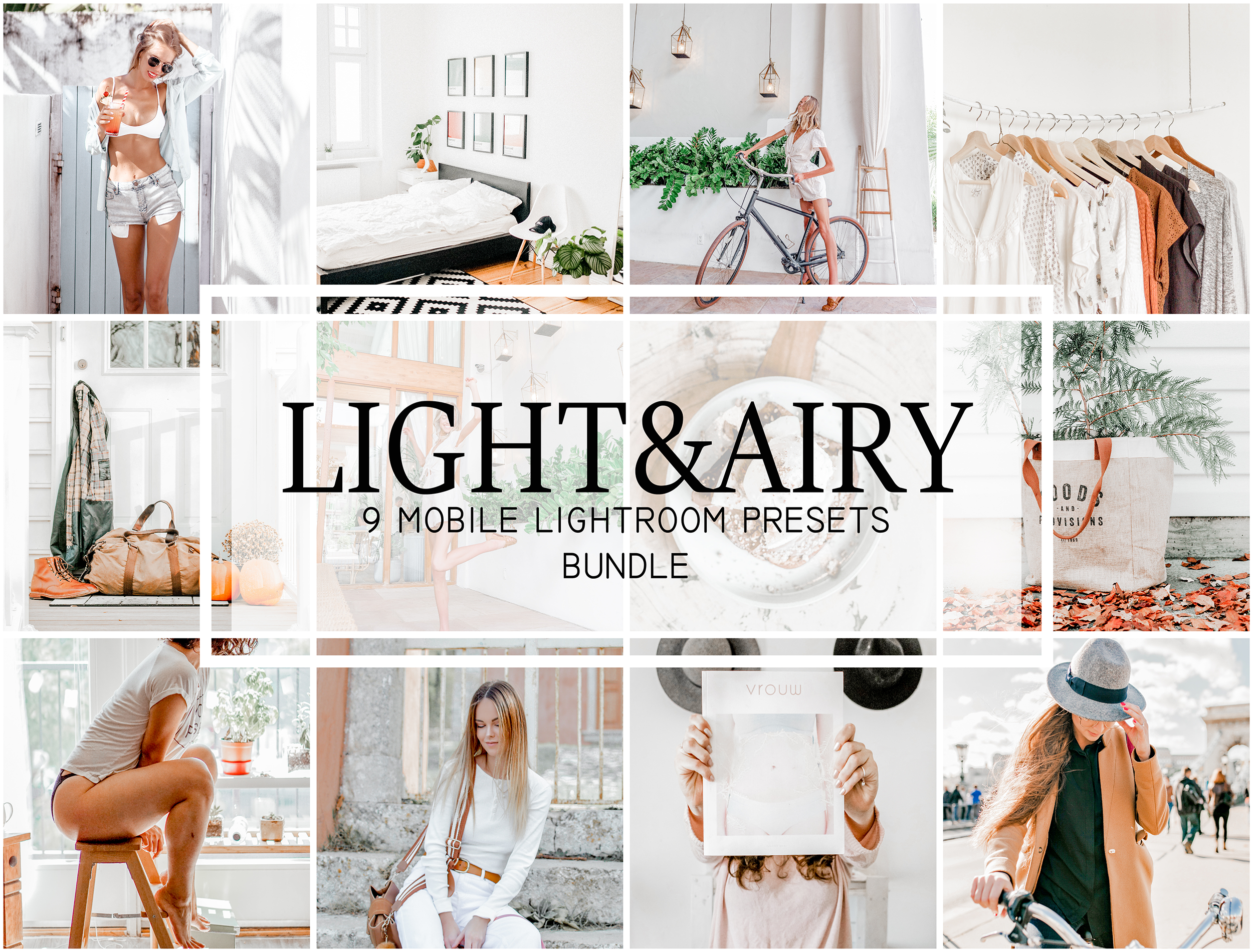 Light and Airy Mobile Lightroom Presets in 2020