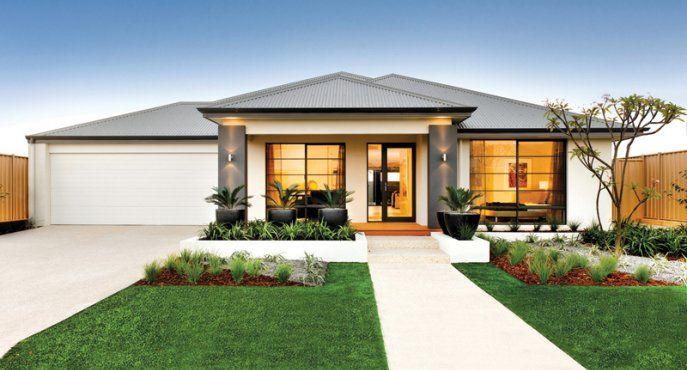 Front Elevation Of Verandah : Contemporary house elevations bedroom austin