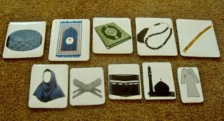 Coolness of Eyes: Islamic flashcards