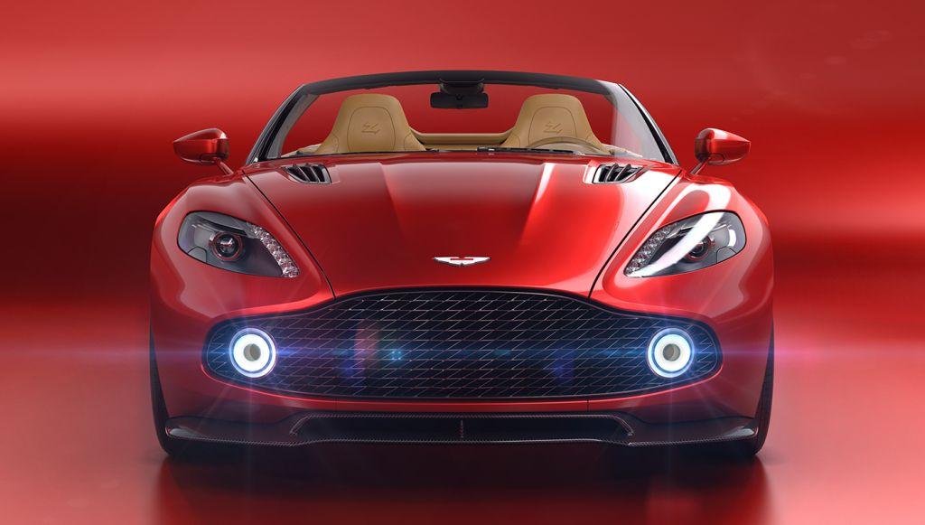 Aston Martin Drops Its Top With The Red Hot Vanquish Zagato Volante Convertible Aston Martin Vanquish New Aston Martin Aston Martin